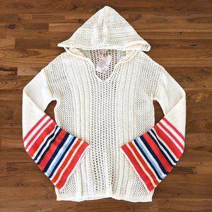 HEM & THREAD Women's Knit Cream Sweater NEW S